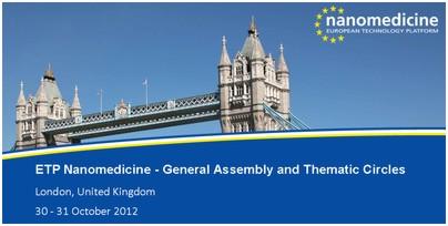 Asamblea General de la Plataforma Europea de Nanomedicina (ETPN): enfocando la nanomedicina hacia H2020