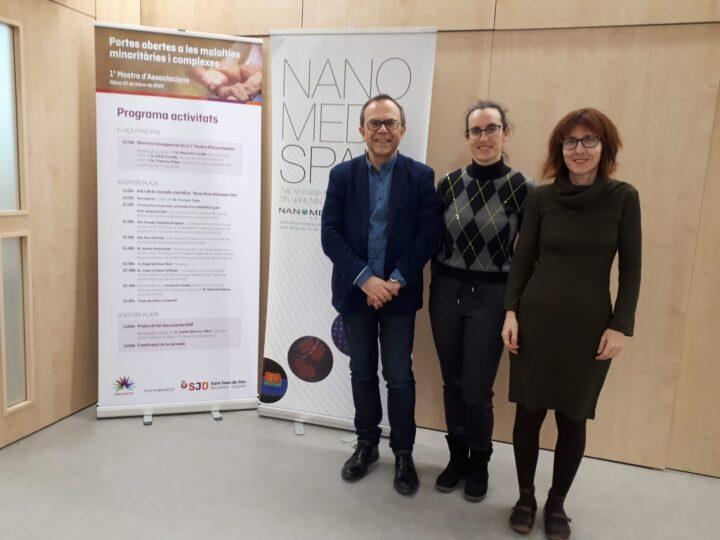 La Plataforma Española de Nanomedicina renueva la ayuda del ministerio para el periodo 2021-2022